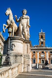 Place de Campidoglio, Rome, Italie Photos stock