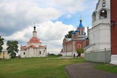 Place de cathédrale dans Kolomna Kremlin Photographie stock libre de droits