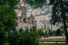 Place de cathédrale de Kremlin photos stock