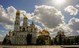 Place de cathédrale de Kremlin photographie stock
