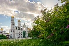 Place de cathédrale de Kremlin photo stock