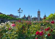 Place de Cervantes Images libres de droits