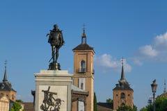 Place de Cervantes Image libre de droits