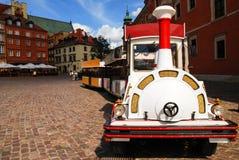 Place de château dans la vieille ville Varsovie Images libres de droits