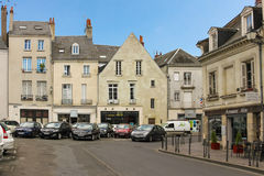 Place de Chateauneuf. Tours. France Royalty Free Stock Images