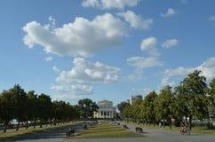 Place de Chelyabinsk Photographie stock libre de droits