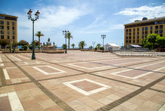 Place de Diamant, Ajaccio, France Images libres de droits