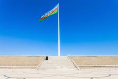 Place de drapeau national, Bakou Photo stock