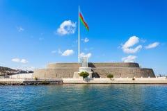 Place de drapeau national, Bakou images libres de droits