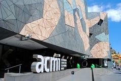 Place de fédération et ACMI photo stock