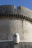 Place de garde sur la forteresse Photos libres de droits