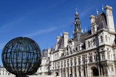 Place de Hotel de Ville Royalty Free Stock Photography