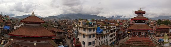 Place de Katmandou Durbar Photos libres de droits