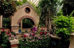 Place de Kennett, PA : Jardin du ` s d'enfants aux jardins de Longwood Photographie stock