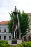 Place de Kubinyi, Lucenec, Slovaquie Photo stock