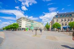 Place de Kungsporten à Gothenburg du centre Photo stock