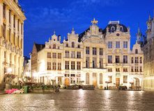 Place de l` Agora in Brussels.  Royalty Free Stock Images
