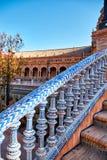 Place de l'Espagne, Séville, Espagne Photo libre de droits