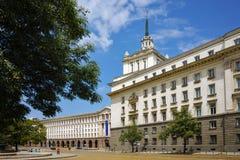Place de l'indépendance et le bâtiment du Conseil des ministres Image libre de droits