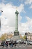 Place de La Bastille Fotos de archivo