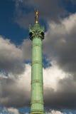 Place de la Bastille en París Imágenes de archivo libres de regalías