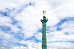 Place de la Bastille en París Fotografía de archivo libre de regalías