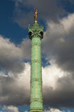 Place de la Bastille in Paris Royalty Free Stock Images