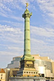 The Place de la Bastille, Paris Royalty Free Stock Images