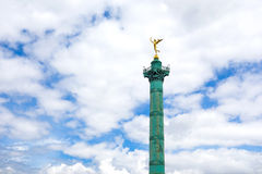 Place de la Bastille in Paris Royalty Free Stock Photography