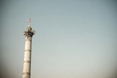 Place de la Bastille in Paris Royalty Free Stock Photos