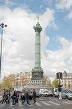Place de la Bastille Stock Photos
