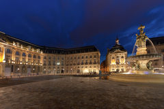 Place de la Bourse Stock Photo