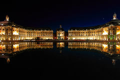 Place de la Bourse, Bordeaux Stockbilder
