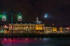 Place de la Bourse in Bordeaux, France royalty free stock photos