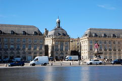 Place de la Bourse  in Bordeaux Stock Images