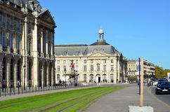 Place de la Bourse  in Bordeaux Stock Photo