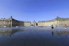 Place de la Bourse Royalty Free Stock Photo