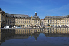 Place de la Bourse in Bordeaux, France Stock Photo