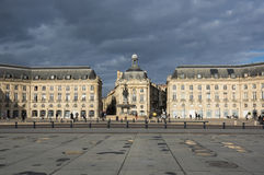 Place de la Bourse in Bordeaux Royalty Free Stock Image