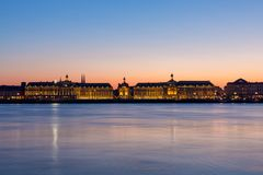 Place de la bourse in France royalty free stock image