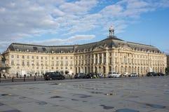 Place de la Bourse im Bordeaux Stockfoto