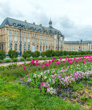 Place de la Bourse at Spring, Bordeaux. France Stock Photography