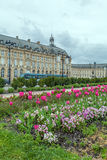 Place de la Bourse at Spring, Bordeaux. France Royalty Free Stock Photography