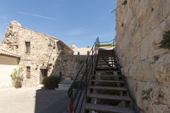 Place de la Castre在戛纳,法国 免版税库存图片