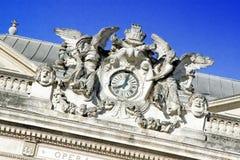 Place de la Comédie - Theater Square of Montpellier Royalty Free Stock Photos
