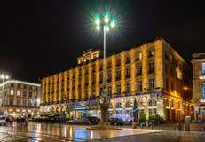 Place De La Comedie At Night In Bordeaux France Editorial Stock