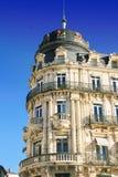 Place de la Comedie - quadrato del teatro di Montpellier Immagini Stock Libere da Diritti