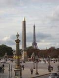 Place de La Concorde Imagen de archivo libre de regalías