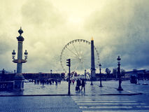 Place de la Concorde Royalty Free Stock Photos