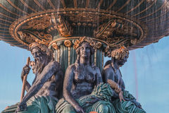 Place de la Concorde Photos stock